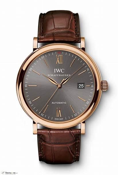 Iwc Portofino Automatic Watches Gold Rose Patek
