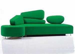 Canape design 75 idees magnifiques pour salon moderne for Canapé forme originale