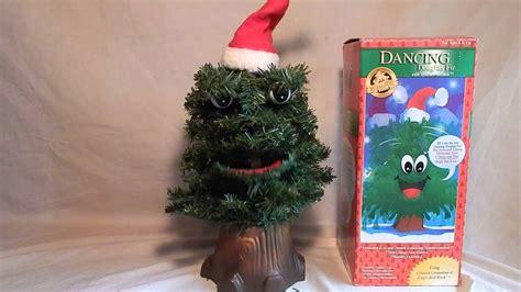 singing talking dancing douglas fir christmas tree
