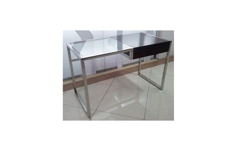 bureau en verre design bureau en verre transparent 28 images table rabattable