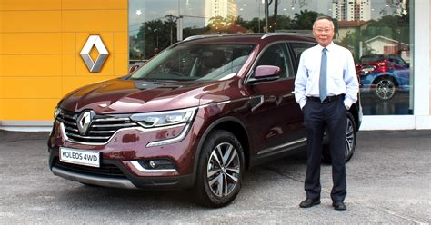 renault malaysia renault koleos 2 5l now officially available with 4wd in