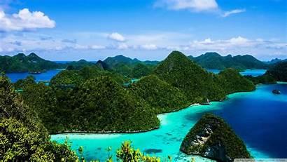 Indonesia Islands Water 4k Wallpapers Raja Background