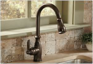 moen kitchen faucet model number moen 7185orb brantford one handle high arc pull kitchen faucet rubbed bronze touch