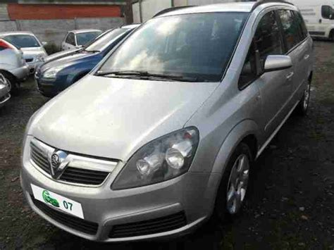 vauxhall zafira 2008 2008 vauxhall zafira 1 6i 16v club car for sale