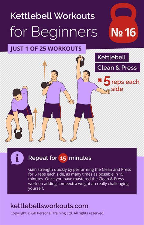 kettlebell workout workouts clean simple beginner training press density kettlebellsworkouts easy vipstuf push