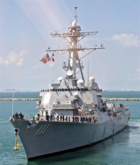 USS Spruance DDG 111 Arleigh Burke class destroyer US Navy