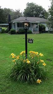 Outdoor Hanging Light Fixtures A Beautiful Post Mounted Bavarian Lamp With Dual Gasglow