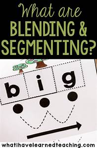 tips for student success when blending and segmenting words With blending letters and sounds