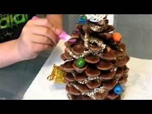 Que Faire Avec Des Pommes De Pin Pour Noel : sapin de no l avec pomme de pin youtube ~ Voncanada.com Idées de Décoration
