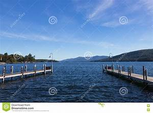 Pier On Lake George NY USA Stock Photography