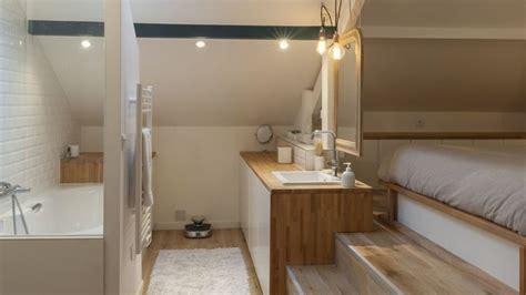 amenagement chambre parentale avec salle bain excellent parentale avec salle de bain sous comble meuble
