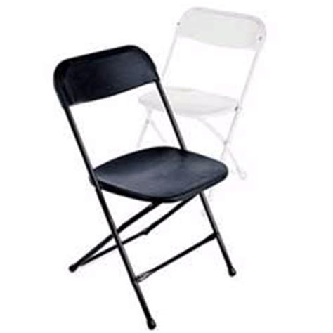 chairs black folding rentals elk river mn where to rent