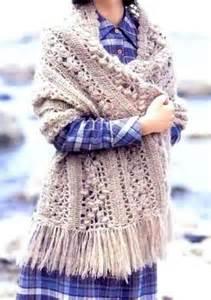 Winter Shawl Crochet Pattern