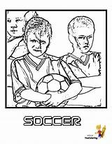 Coloring Soccer Pages Sports Printable Team Players Boys Colouring Sport Futbol Cup Fired Yescoloring Football Enter Perabo Piper Dora sketch template