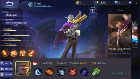 Clint High Damage New Pro Build 2018