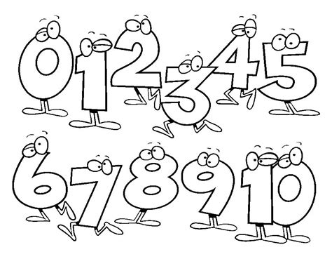 numbers coloring pages for preschool free coloring 381 | 47f6b336797886979fbdc442d94ab13d