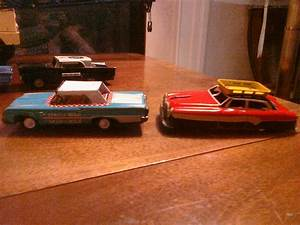 Tin Toy Friction Cars Found In Dime Stores But Made In Japan   Friction Powered