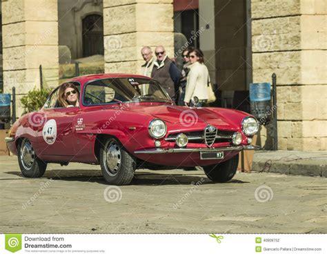 Vintage Alfa Romeo by Alfa Romeo Giulia Coupe Classic Editorial Photography