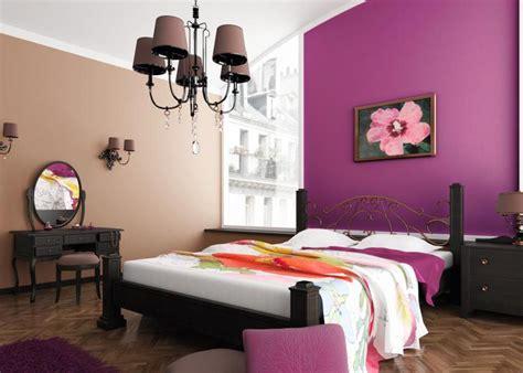 peinture de chambre à coucher peinture murale quelle couleur choisir chambre à coucher