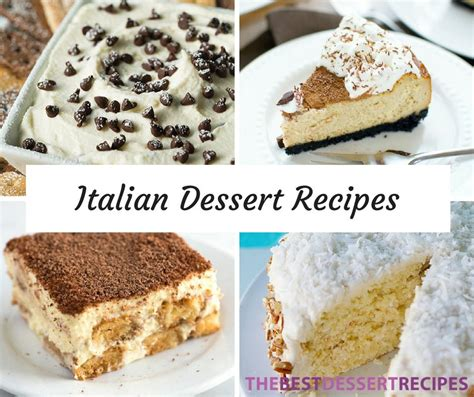 dessert recipes in 29 italian dessert recipes thebestdessertrecipes