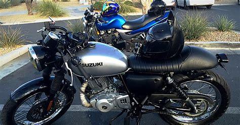 Suzuki Tu250x Cafe by My Bike Suzuki Tu250x Cafe Racer Style Motorcycles