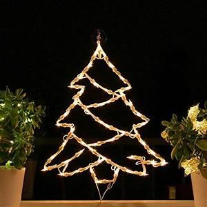 Fensterdeko Zum Aufhängen : fenster silhouette weihnachten weihnachtsdeko fensterbilder beleuchtet weihnachtsbeleuchtung ~ Frokenaadalensverden.com Haus und Dekorationen
