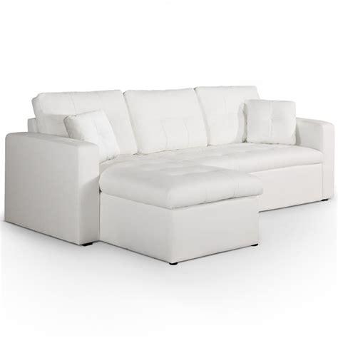 canape convertible cuir blanc canapé d 39 angle convertible cuir blanc cuba lestendances fr