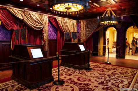 Inside Be Our Guest Restaurant Dining Rooms  Photo 5 Of 19