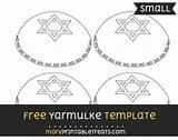 Template Yarmulke Moreprintabletreats Sponsored Templates Links sketch template