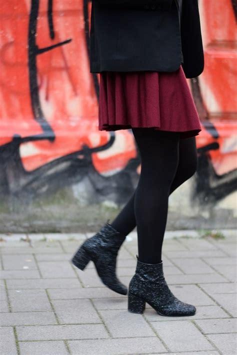 jupe bureau bloody girly porter une jupe patineuse bordeaux au bureau