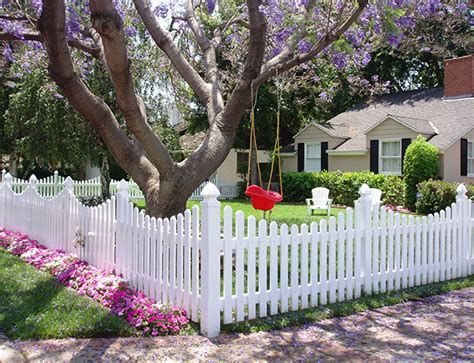 Vinyl Picket Fencing Custom Build To Fit Your Yard