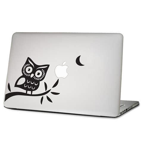 sticker macbook owl 1 eule im baum laptop macbook sticker aufkleber