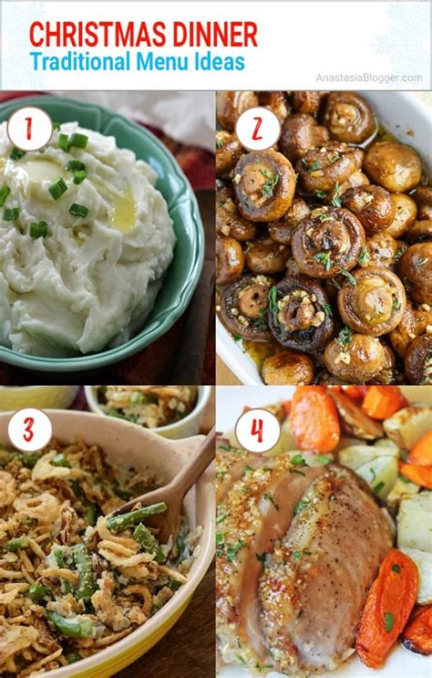 These delicious southern thanksgiving recipes are a delightful mix of sweet and savory for your menu, including dishes that just about everyone will enjoy. Best 25+ Christmas Dinner Ideas - Traditional / Italian / Southern Menu en 2020 | Comida, Menu ...