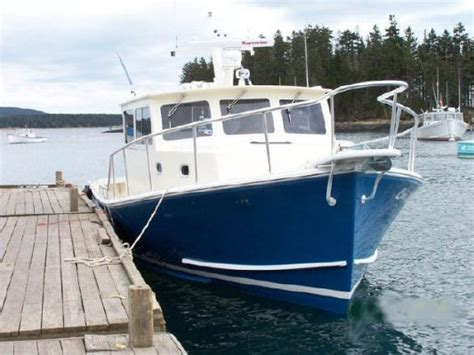 Lobster Boat For Sale Europe by 2011 Calvin Beal Sportfish Downeast Lobster Style Boats