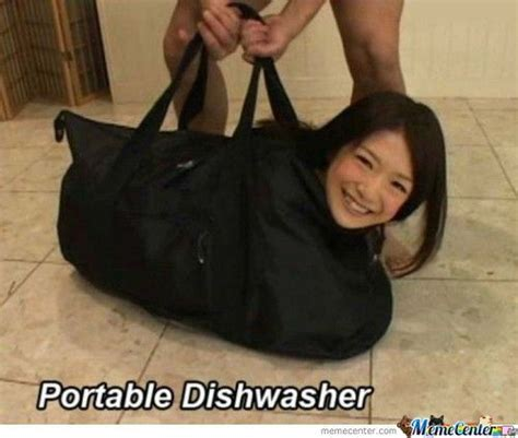 Chinese Woman Meme - asian girls portable dishwasher by le mao meme center
