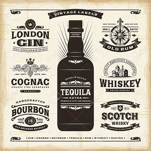 23 bottle labels psd vector eps jpg download With free liquor labels