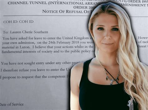 lauren young journalist conservative activist journalist lauren southern detained