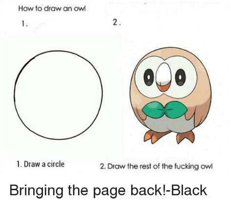 How To Draw An Owl Meme - 25 best memes about drawing an owl drawing an owl memes