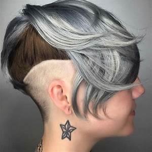 Coupes Courtes Femme 2017 : belles coupes courtes pour femmes tendance 2017 coiffure ~ Melissatoandfro.com Idées de Décoration