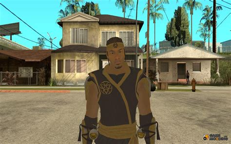 Cyrax From Mortal Kombat 9 For Gta San Andreas