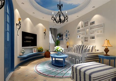 Mediterranean House Design Interior