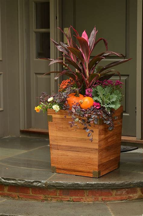 4 Festive Ideas For Fall Container Gardening Fall