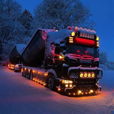 scania   snow  images trucks big trucks big