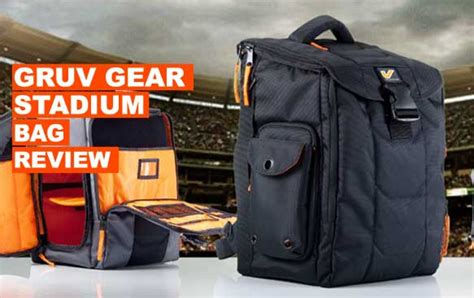 Gruv Gear Stadium Bag Review & Video