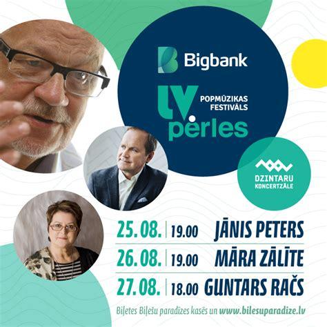 Festivāls BIGBANK Latvijas pērles