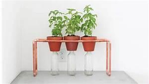 Kräutergarten In Der Wohnung : er benutzt kupferrohre f r einen individuellen diy ~ Watch28wear.com Haus und Dekorationen