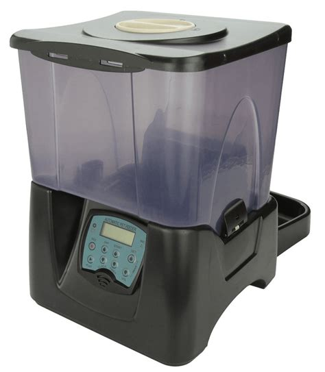 automatic pet feeder reviews toppets large automatic pet feeder review