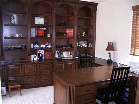 built  desk  home office woodwork creations