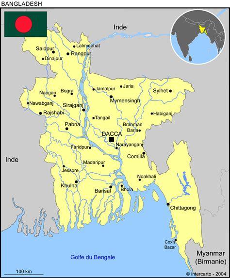 cartograffr carte bangladesh