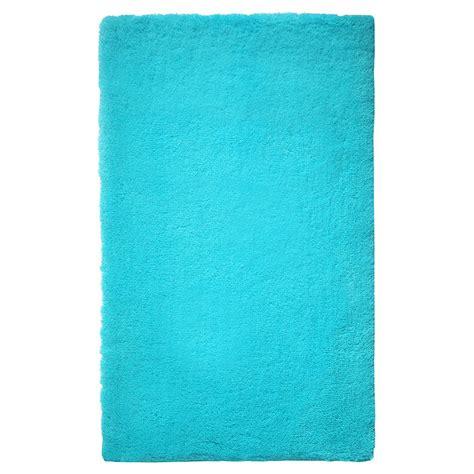 tapis de bain event bleu turquoise esprit home 55x65